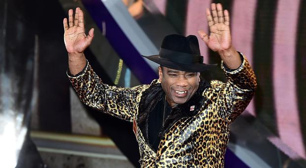 Winston McKenzie arrives at the start of the latest series of Celebrity Big Brother