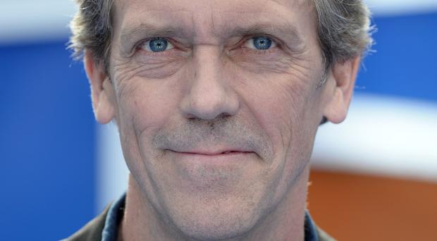 Hugh Laurie is to star in the thriller Chance