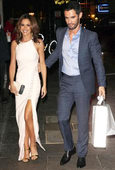 Cheryl and Jean-Bernard Fernandez-Versini together in October last year