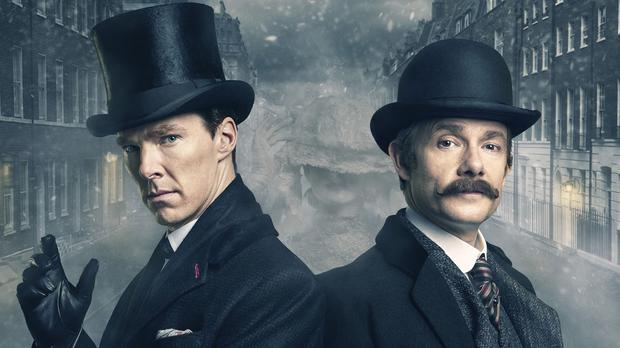 Sherlock led the way for TV ratings over the festive period (BBC/PA)