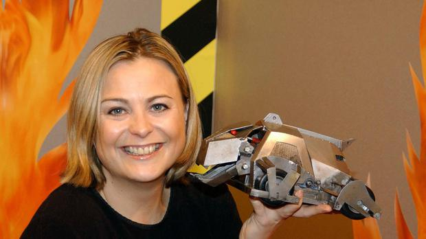 Phillipa Forrester is a former presenter of Robot Wars