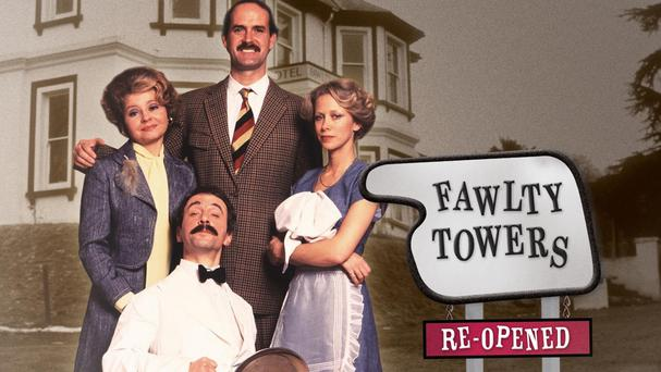 Conrad Phillips made an appearance in Fawlty Towers