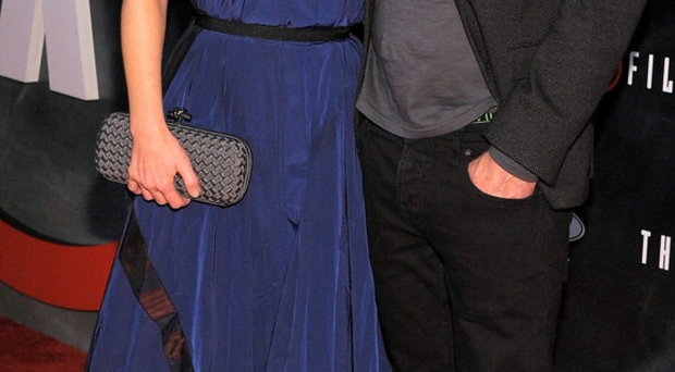 Gillian Anderson and David Duchovny at the premiere of The X-Files in California