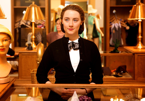 Saoirse Ronan as Eilis in a scene from the film Brooklyn
