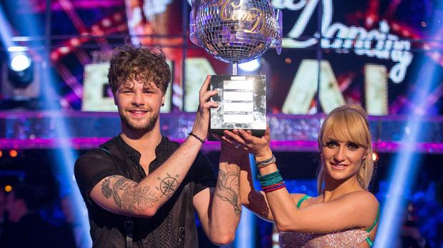 Aliona Vilani and Jay McGuiness won Strictly Come Dancing 2015