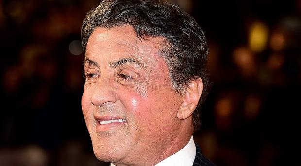Sylvester Stallone at the European premiere of Creed in Leicester Square, London