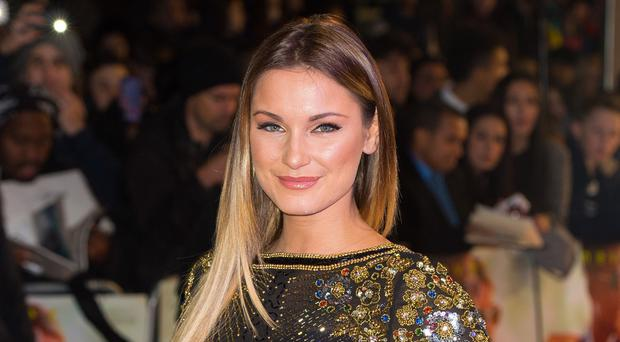Sam Faiers gave birth to a boy in December