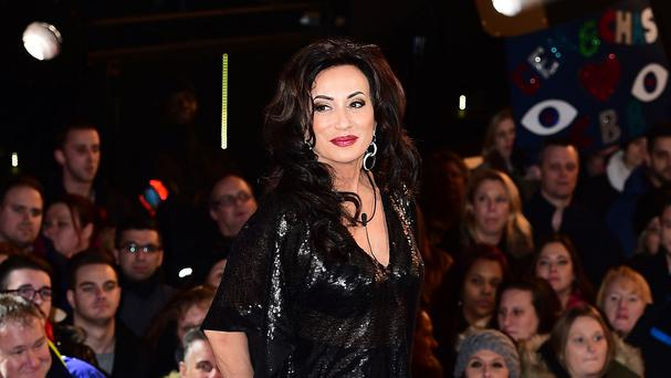 Nancy Dell'Olio arriving at the start of the latest series of Celebrity Big Brother