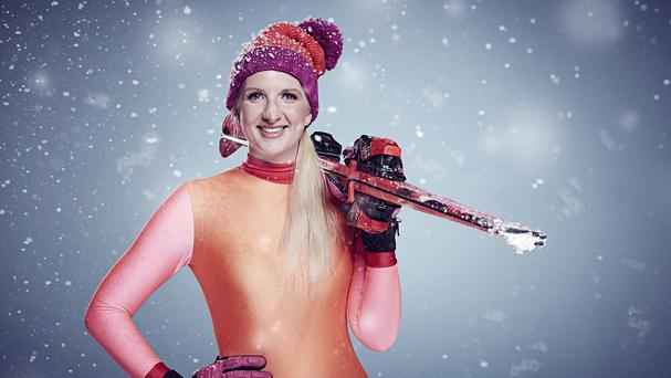 Rebecca Adlington, one of the contestants in this year's The Jump (Channel 4/PA)