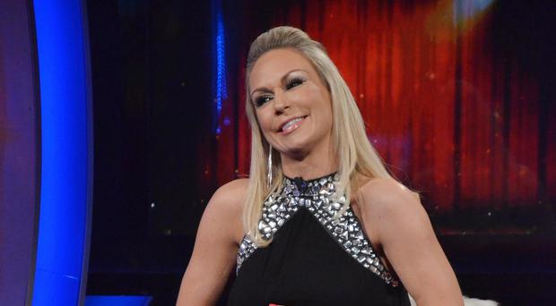 Kristina Rihanoff after she was evicted from the Celebrity Big Brother house.