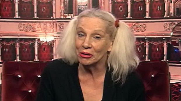 Angie Bowie in the Diary Room before she left the Celebrity Big Brother house (Channel 5/PA)