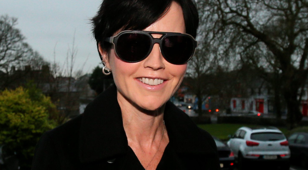 Guilty plea: Dolores O'Riordan