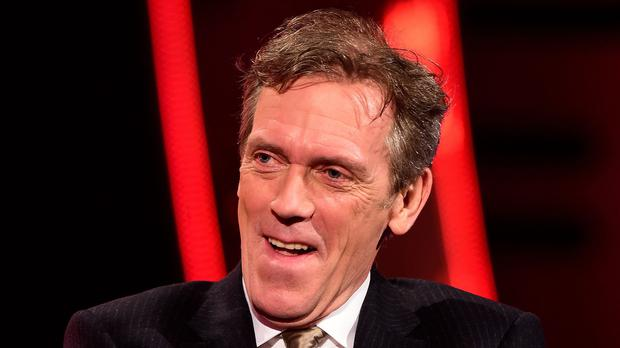 Hugh Laurie on The Graham Norton Show