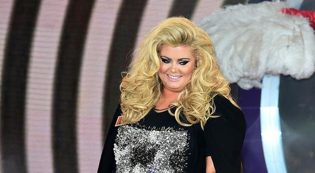 Gemma Collins arriving for the start of Celebrity Big Brother - the reality TV star has stormed out twice since