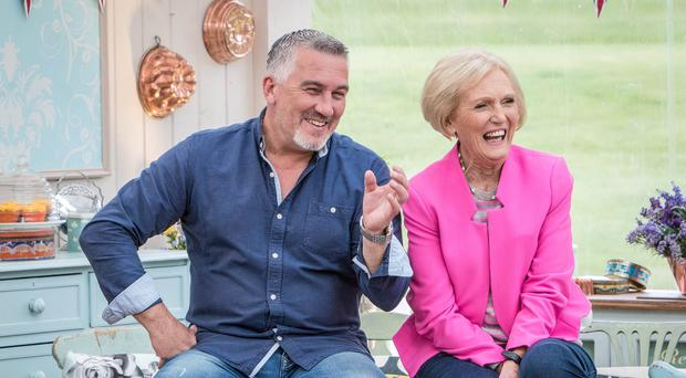 Great British Bake Off judges Paul Hollywood and Mary Berry will be paid £600,000 each by 2017, according to reports (BBC/PA)
