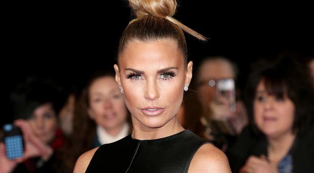 Katie Price was criticised for allowing her daughter to wear mascara and lipstick
