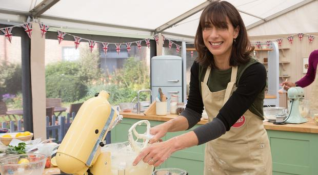 Samantha Cameron gets busy in The Great Sport Relief Bake Off