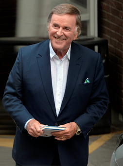 Broadcasting legend Terry Wogan, who has died at the age of 77