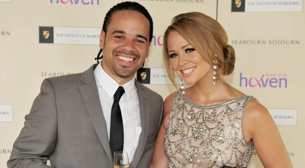 Kimberley Walsh and Justin Scott tied the knot in Barbados