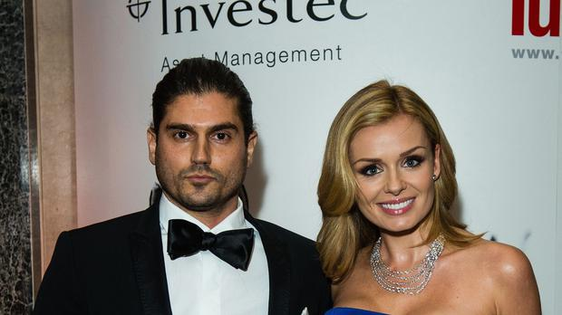 Katherine Jenkins and Andrew Levitas have a baby daughter called Aaliyah