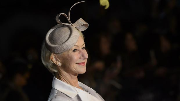 Dame Helen Mirren will lecture Americans on the perils of drink-driving