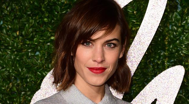 Alexa Chung said she has always had an affection for M&S