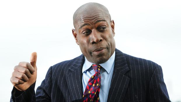 Frank Bruno said he had returned to training in the ring to help him cope with the effects of bipolar