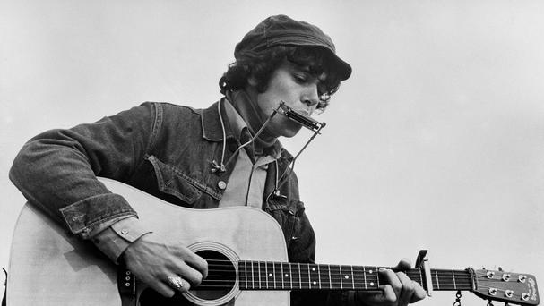 Donovan was seen as the UK's answer to Bob Dylan