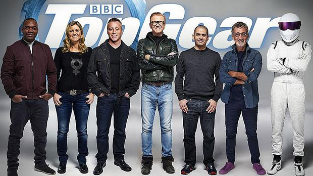 The Top Gear team (Picture: BBC)