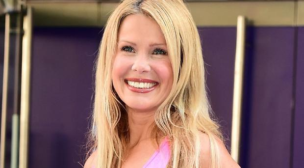 Melinda Messenger took part in the first series of The Jump