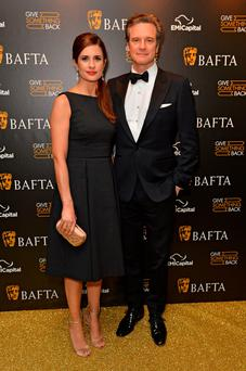 Colin and Livia Firth joined a host of stars of film and TV at the Bafta dinner