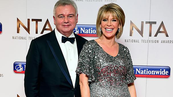 Eamonn Holmes and wife Ruth Langsford