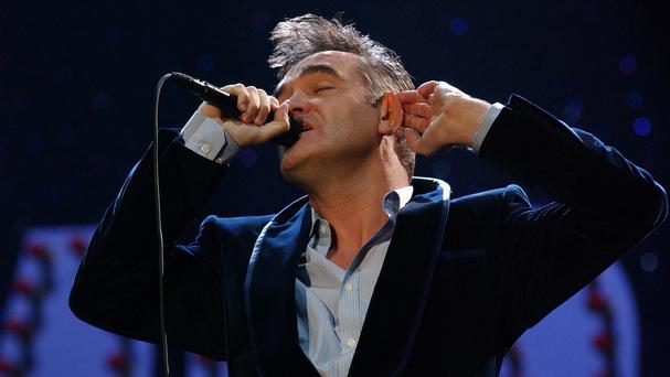 Morrissey has been known to ban fast food outlets from cooking meat during festivals at which he is performing