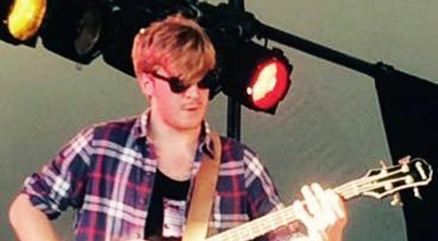 Tomas Lowe, a member of British indie band Viola Beach