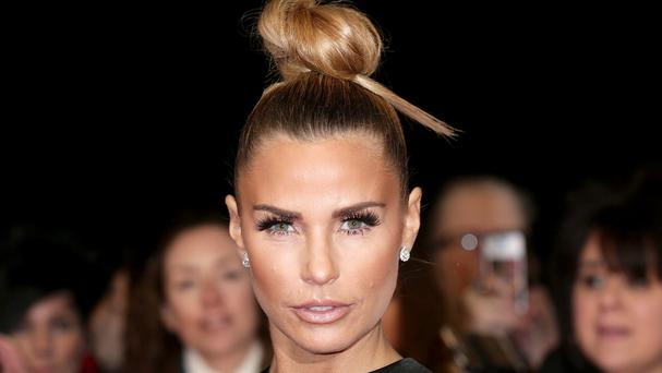 Katie Price poked even more fun at herself as she joked about her cosmetically enhanced face