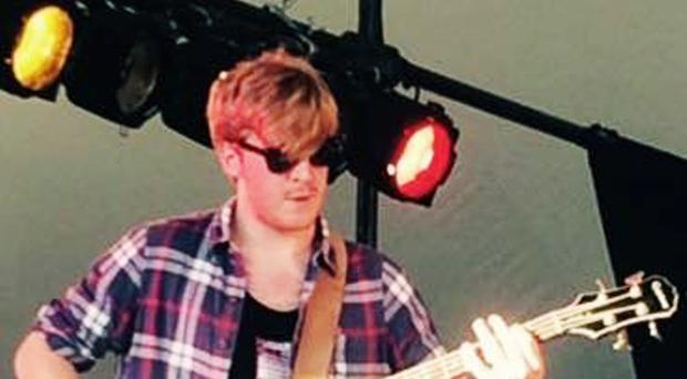 Tomas Lowe, a member of indie band Viola Beach