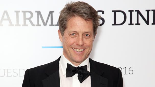 Hugh Grant has been honoured with a British Film Institute Fellowship