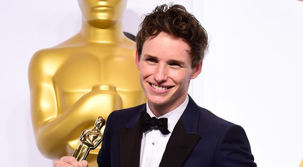 Two thirds of British Oscar winners were privately educated - such as Eddie Redmayne, a former Eton pupil