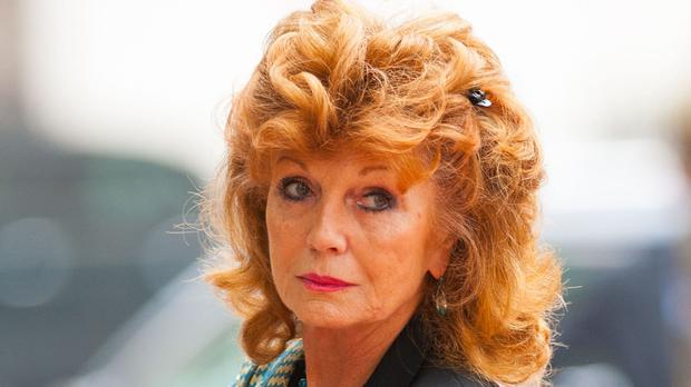 Rula Lenska has appeared on Minder, EastEnders and Coronation Street