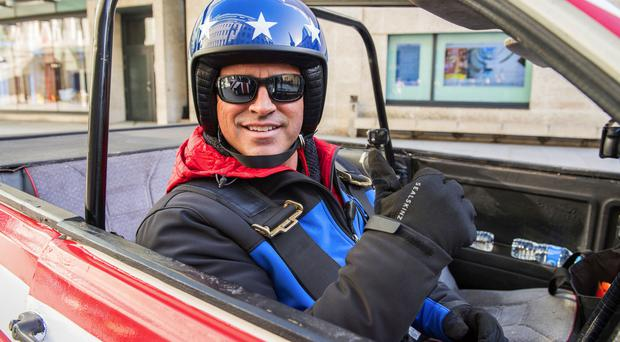 Matt LeBlanc shared a picture of him filming for the upcoming series with rapper Tinie Tempah (BBC/PA)