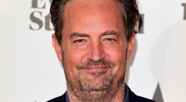 Matthew Perry is currently appearing in West End play The End Of Longing