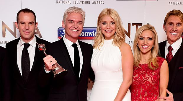 Philip Schofield and Holly Willoughby with the award for Best Live Magazine Show at the National Television Awards