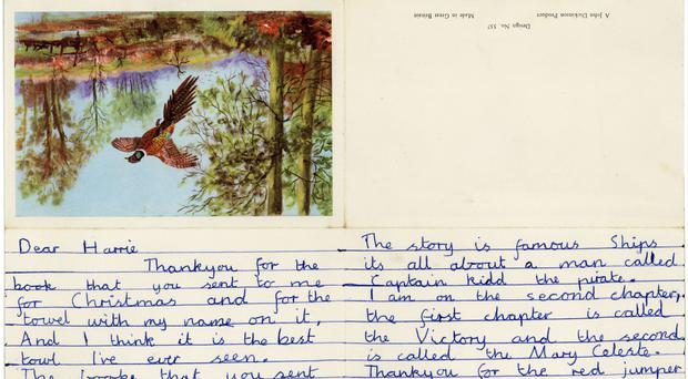 The earliest known John Lennon letter which is going under the hammer.