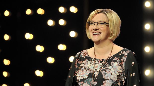 Sarah Millican spoke of her journey to feminism