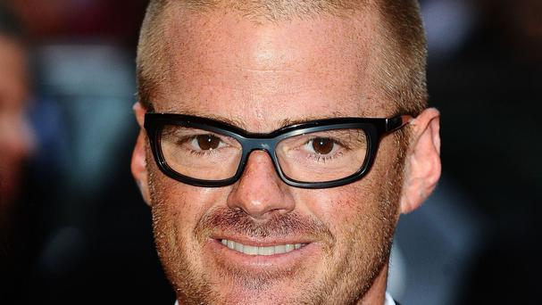 Heston Blumenthal made meals for astronaut Tim Peake