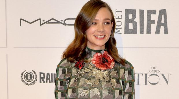 Carey Mulligan received cheers for her rendition of a suffragette's letter