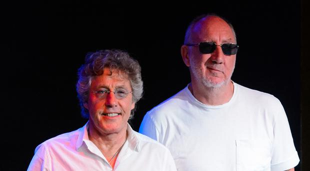 Roger Daltry (left) and Pete Townshend of The Who, who are to headline the Isle of Wight Festival this summer