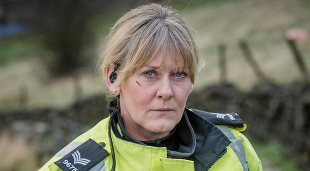 Sarah Lancashire has changed her mind about a third series of Happy Valley, the BBC claims (BBC/PA)