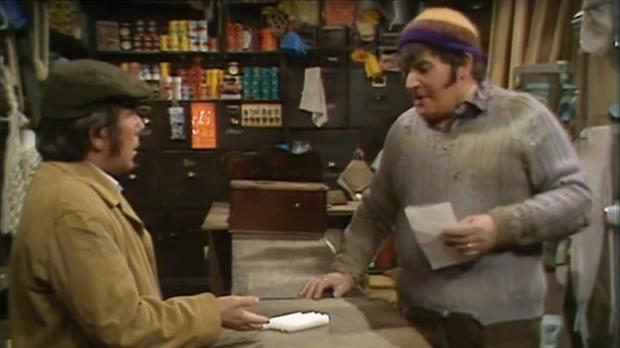 The four candles were just the start of the sketch which is seen as perhaps the masterpiece in the repertoire of The Two Ronnies