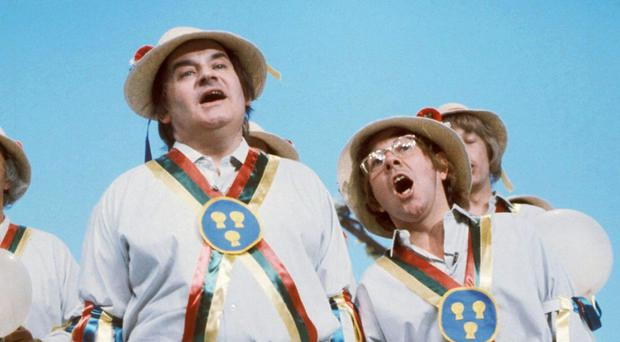 Ronnie Corbett was lost in admiration for the talents of Ronnie Barker
